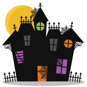 Haunted House SVG cutting files bat svg cut file halloween cute files for cricut cute cut files free svgs