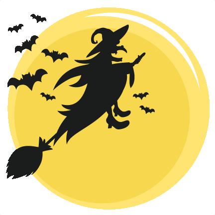 Halloween Witch Svg Scrapbook Title Svg Cutting Files Bat Svg Cut File Halloween Cute Files For Cricut Cute Cut Files Free Svgs
