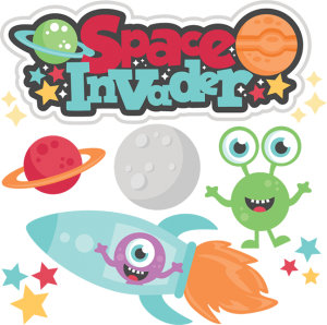 Space Invader SVG cutting files for scrapbooking alien svg cut files cute cut files for cricut cute svg cuts