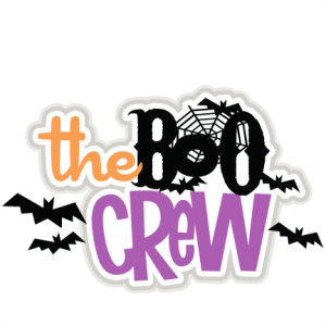 The Boo Crew  SVG scrapbook title SVG cutting files bat svg cut file halloween cute files for cricut cute cut files free svgs
