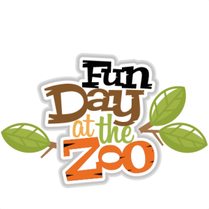 Fun Day at the Zoo scrapbook svg title zoo day svg scrapbook title zoo svg cut files for scrapbooking