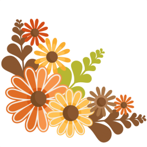 Fall Flowers SVG cutting files for scrapbooking fall svg cut files for cricut cute cut files free svg cuts