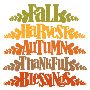 Fall Word Titles SVG cutting file for scrapbooking autumn svg cut files free svgs cute cut files for cricut