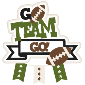 Go Team Go Football SVG scrapbook title football svg cut file cute cut files for cricut cute svg cuts free svgs