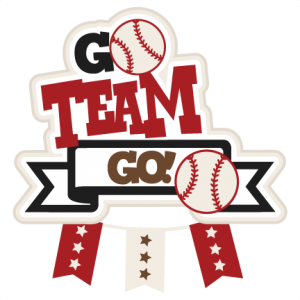 Go Team Go Baseball SVG scrapbook title football svg cut file cute cut files for cricut cute svg cuts free svgs