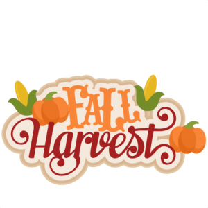 Fall Harvest SVG scrapbook title  SVG cutting files for scrapbooking fall svg cut files for cricut cute cut files free svg cuts