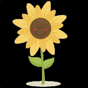 Cute Sunflower SVG scrapbook title  SVG cutting files for scrapbooking fall svg cut files for cricut cute cut files free svg cuts