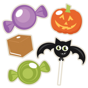 Halloween Candy Set SVG scrapbook title SVG cutting files crow svg cut file halloween cute files for cricut cute cut files free svgs