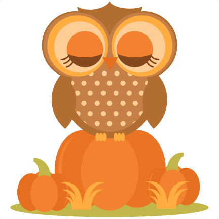 Owl In Pumpkins SVG cutting file for scrapbooking autumn ...