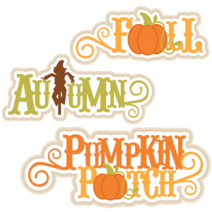 Fall Title Set SVG cutting file for scrapbooking autumn svg cut files free svgs cute cut files for cricut