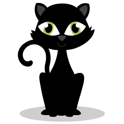 Black Cat SVG cutting files for cricut halloween svg cut files ...