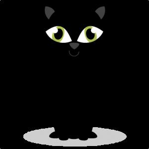 Black Cat SVG cutting files for cricut halloween svg cut files free svgs free cut files cute svg cut files scrapbook