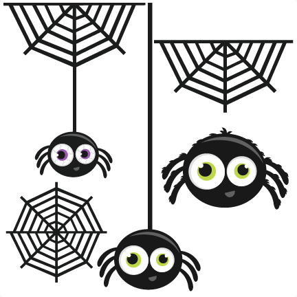 Spider Group SVG cutting files for scrapbooking halloween svg cut ...