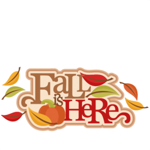 Fall Is Here Title SVG cutting file for scrapbooking autumn svg cut files free svgs cute cut files for cricut