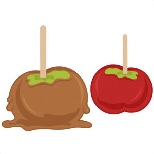 Candied Apples SVG cutting files for scrapbooking fall svg cut files for cricut cute svg cuts free svgs