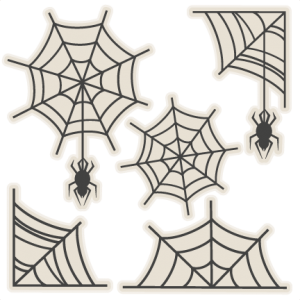 Spiderweb Set SVG scrapbook title SVG cutting files crow svg cut file halloween cute files for cricut cute cut files free svgs