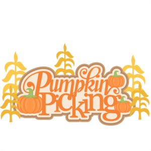 Pumpkin Picking Title cut files for cricut  SVG cutting files cute cut files for cricut free svgs free svg cuts cute svg files