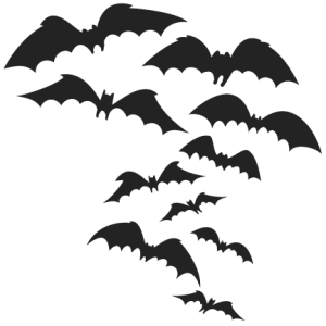 Spooky Bats  SVG cutting files halloween svg cuts halloween scal files cutting files for cricut free svgs
