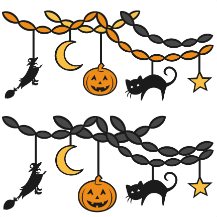 Halloween Party Decor SVG scrapbookSVG cutting files party ...
