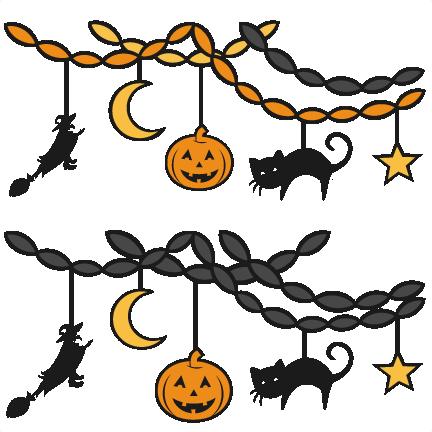 Halloween Party Decor SVG ScrapbookSVG Cutting Files Svg Cut File Cute For Cricut Free Svgs