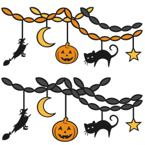 Halloween Party Decor SVG scrapbookSVG cutting files party svg cut file halloween cute files for cricut cute cut files free svgs