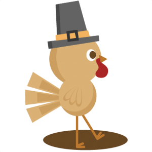 Turkey SVG cutting file thanksgiving svg cuts cute clip art clipart turkey cut file for scrapbooking