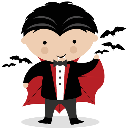 Vampire SVG scrapbook title SVG cutting files crow svg cut ...
