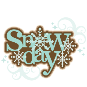 Snow Day Title SVG scrapbook title winter svg cut file winter cut file for scrapbooking cute cricut cut files