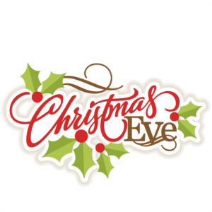 Christmas Eve Title SVG scrapbook title christmas cut outs for cricut cute svg cut files free svgs cute svg cuts