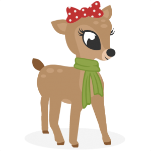 Reindeer SVG cutting files for scrapbooking cute cut files christmas svg cut files free svgs