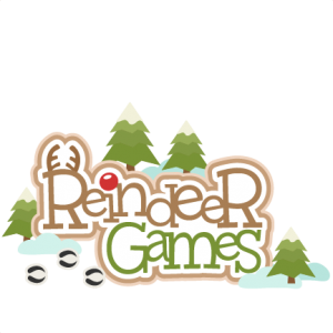 Reindeer Games SVG scrapbook title  SVG cutting files for scrapbooking cute cut files christmas svg cut files free svgs