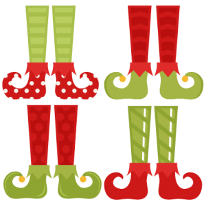 Elf Shoe Set SVG cutting files christmas svg cuts free svgs cute cut files for cricut cute svgs cute christmas clip art