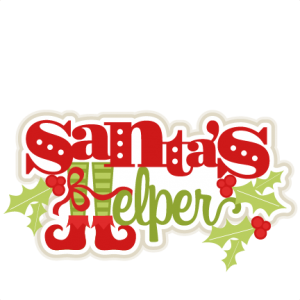 Santa's Helper SVG cutting files for scrapbooking cute cut files christmas svg cut files free svgs