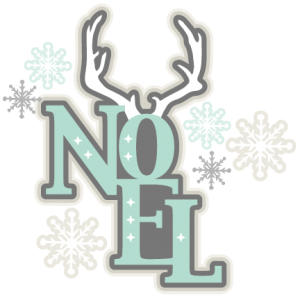 Noel SVG scrapbook title winter svg cut file snowflake svg cut files for cricut cute svgs free