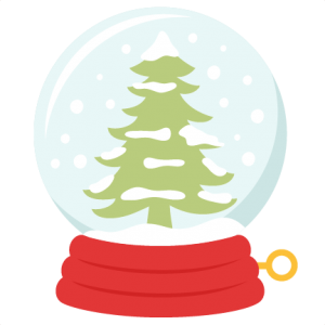 Winter Tree Snow Globe SVG scrapbook title winter svg cut file snowflake svg cut files for cricut cute svgs free