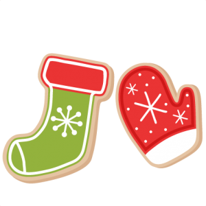 Christmas Cookies scrapbook clip art christmas cut outs for cricut cute svg cut files free svgs cute svg cuts