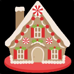 Gingerbread House scrapbook clip art christmas cut outs for cricut cute svg cut files free svgs cute svg cuts