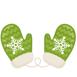 Chevron Mittens SVG scrapbook title winter svg cut file snowflake svg cut files for cricut cute svgs free