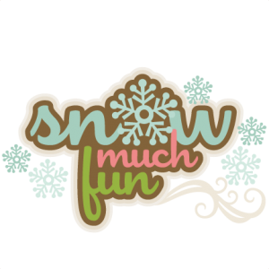 Snow Much Fun SVG scrapbook title winter svg cut file snowflake svg cut files for cricut cute svgs free