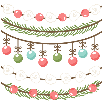Christmas Borders Scrapbook Clip Art Christmas Cut Outs