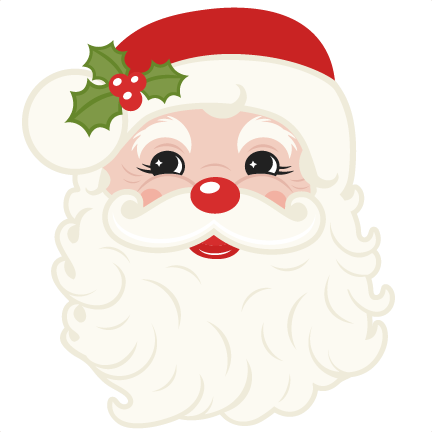 Download Vintage Santa cut files for cricut SVG cutting files for ...