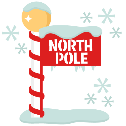 north pole sign scrapbook title winter svg cut file north pole clip art free north pole clip art free
