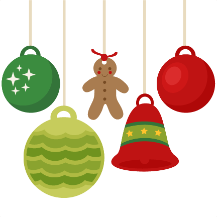Christmas ornaments scrapbook clip art christmas cut outs for X mas decorations png
