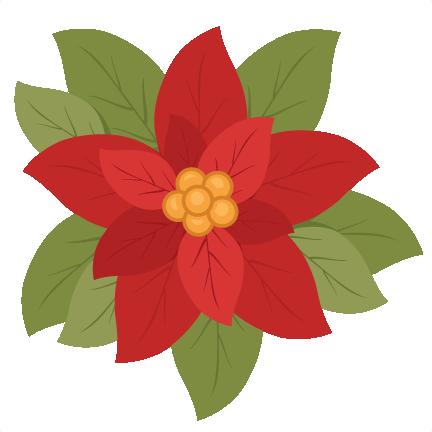 christmas poinsettia flower scrapbook clip art christmas cut outs rh misskatecuttables com poinsettia clipart black and white poinsettia clipart for embroidery