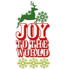 Joy to the World Title SVG scrapbook title christmas cut outs for cricut cute svg cut files free svgs cute svg cuts