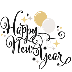 Happy New Year SVG scrapbook title balloons svg cut files free svgs cute clipart cute clip art svg cuts
