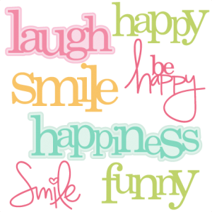 Happy Words SVG cutting files cute cut files for cricut free svgs free svg cuts cute svg files