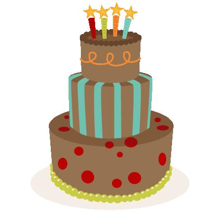 Birthday Cake Svg Scrapbook Birthday Svg Cut Files
