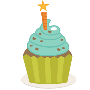 Birthday Cupcake SVG scrapbook birthday svg cut files birthday svg files free svgs free svg cuts
