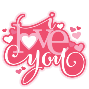 I Love You SVG scrapbook title valentine SVG cutting file for scrapbooking free svg cuts free svgs hearts svg files